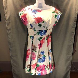Kate Spade Floral Fiorella Dress, size 6